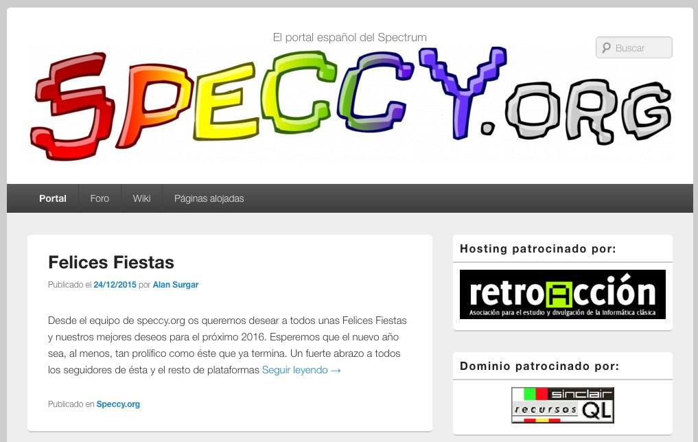 Hosting Speccy.org