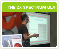 Conferencia «The ZX Spectrum ULA: How to design a microcomputer»