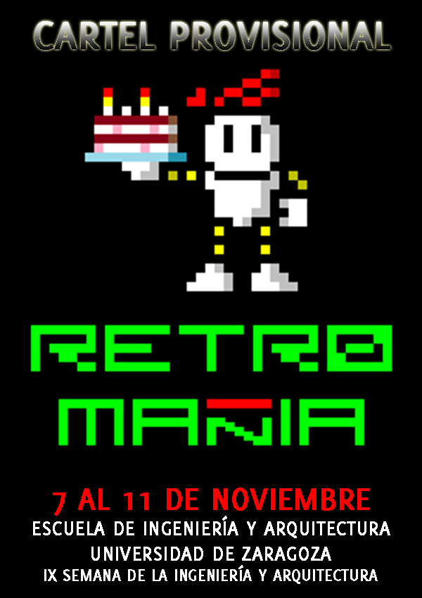 Cartel de RetroMañía'15