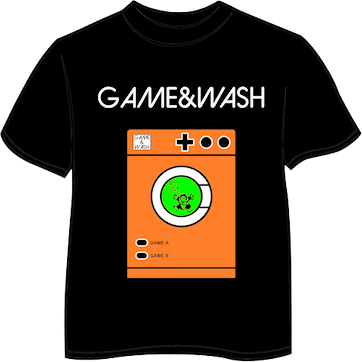 Camiseta  Game&Wash