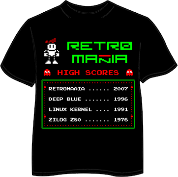 Camiseta RetroMañía: High Scores